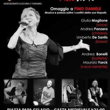 """""""Mal di te"""" concerto omaggio a Pino Daniele"""