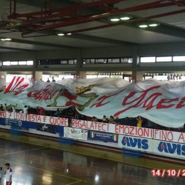 Pallamano: Grande tifo per il Gaeta Sporting Club
