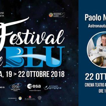 """""""Festival del Blu"""": Gaeta incontra l'Agenzia Spaziale Italiana"""