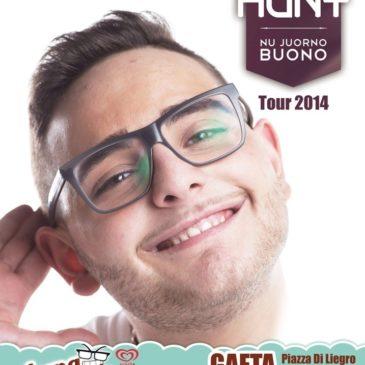Gaeta: Rocco Hunt all'Arena Virgilio: prenotazioni da tutto il Centro Italia
