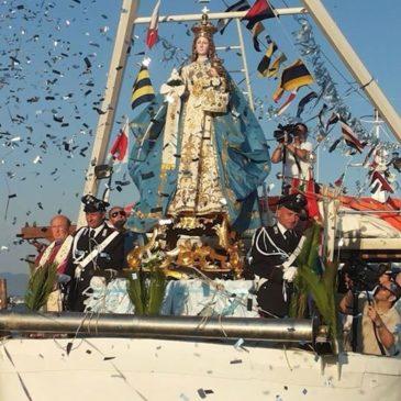VIDEO della processione della Madonna di Porto Salvo
