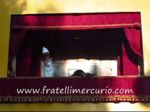 Burattini Fratelli Mercurio: Dal Prossimo Weekend tornano a Gaeta, ecco le date