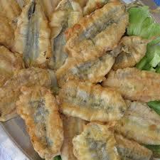 #Ricette Prodotti tipici di Gaeta: Alici indorate e fritte