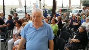 il presidente del Centro Anziani San Carlo Mario Di LOrenzo