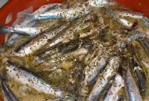 #Ricette Prodotti tipici di Gaeta: Alici in Tortiera