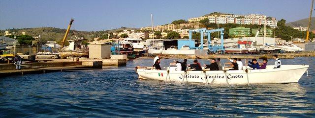 Il Nautico Caboto di Gaeta da Papa Francesco… In Barca!