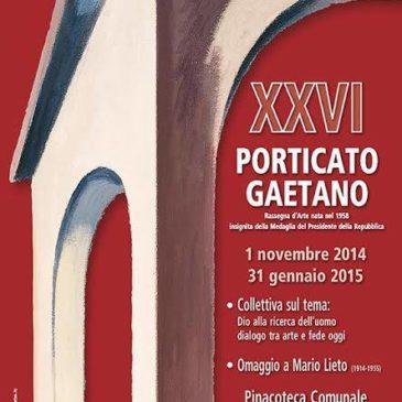 GAETA: XXVI porticato Gaetano, Rassegna d'Arte dal 1958 – Inaugurazione