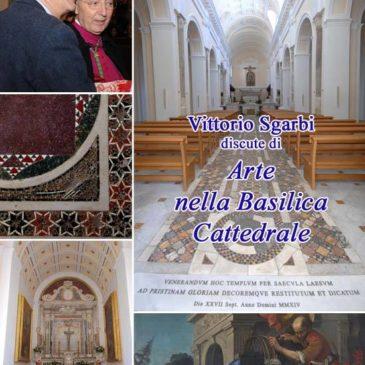 Gaeta: Vittorio Sgarbi, presenta la Cattedrale.