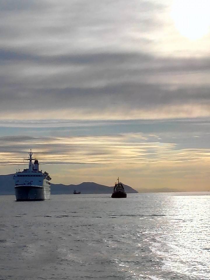 grandi navi da crociera a Gaeta