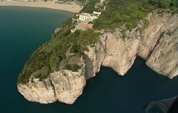 Scalate rocciose a Gaeta: Scalare la Montagna Spaccata
