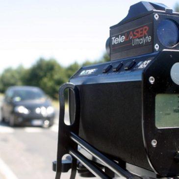 Telelaser: Settimana di controlli della Polizia Stradale sulle strade di tutto il Lazio. Scarica la Mappa