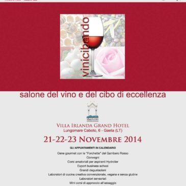 Gaeta: Salone del vino e del cibo di eccellenza