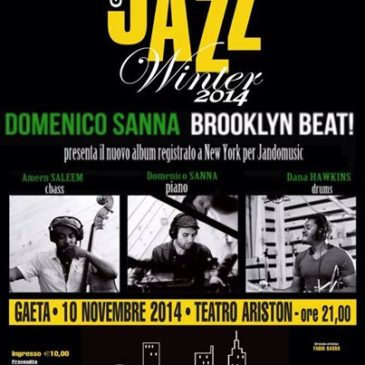 "Torna il Jazz a Gaeta: Winter Jazz con ""Brooklyn Beat release tour"""