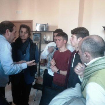 Gaeta Problema carenza aule: il Sindaco Mitrano incontra gli studenti del Nautico Caboto in protesta
