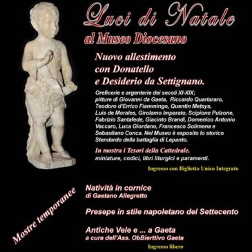 Gaeta: Il Museo ritrovato – Nuovo allestimento con Donatello e Desiderio da Settignano