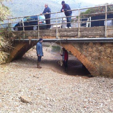 *FOTO* – Il Comitato Pontone di Gaeta denuncia lo stato di Abbandono del torrente