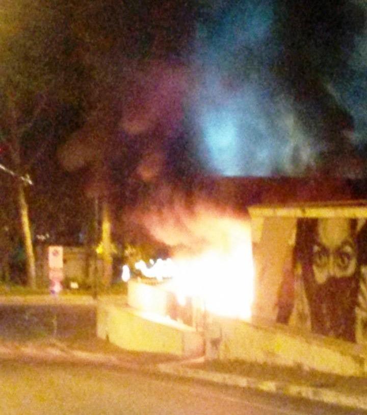 incendio comune di gaeta
