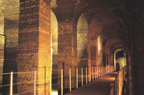 Formia: chiusura del Cisternone romano di Castellone