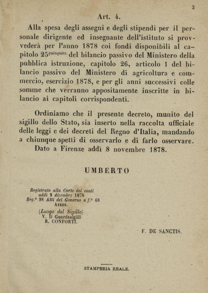 REGIO DECRETO del 8 novembre 1878_3