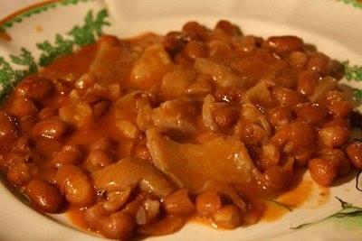 #Ricette Prodotti tipici di Gaeta: FAGIOLI CON LE COTICHE