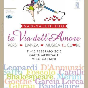 #Eventi Gaeta: LE VIE DELL'AMORE …con deCOMPORRE – Sabato 14 Febbraio San Valentino con Amore