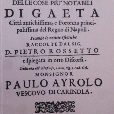 Il Libro-Guida di Gaeta più antico della Storia