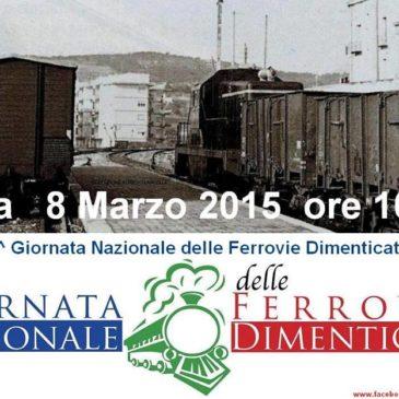 8 Marzo Ferrovia Formia-Gaeta: Giornata Nazionale delle Ferrovie dimenticate