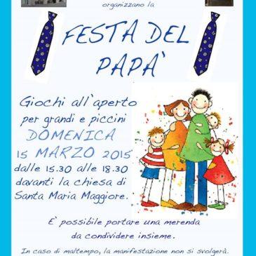 Itri (LT): Festa del papà