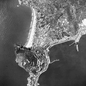 *FOTO* Veduta Aerea su Gaeta del 1966 a quota 6000 metri