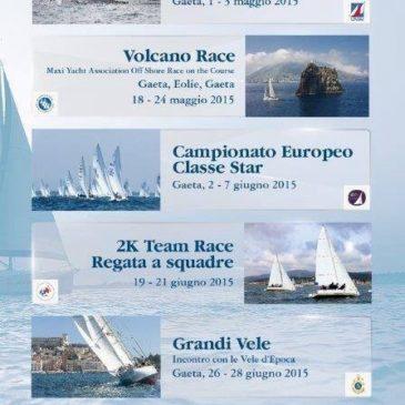 Gaeta: calendario eventi Vela 2015 da scaricare. Clicca