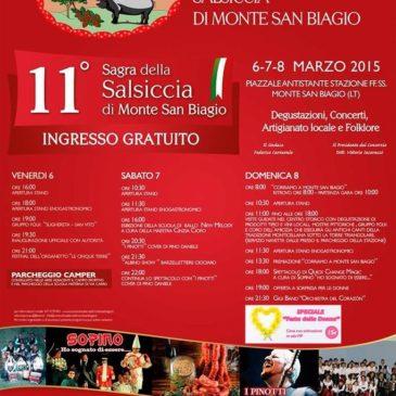 Sagra della Salsiccia 2015 di Monte San Biagio