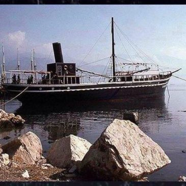 Gaeta: La nave Caiattas nel 1979