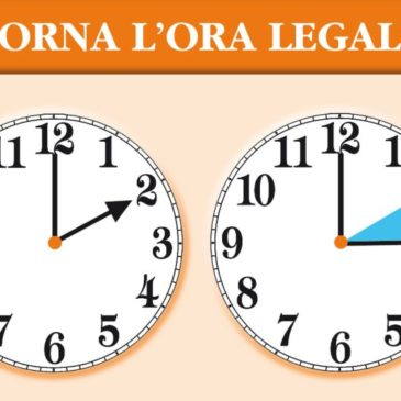 Torna l'Ora legale 2015, cambio ora nella notte tra Sabato 28 e Domenica 29