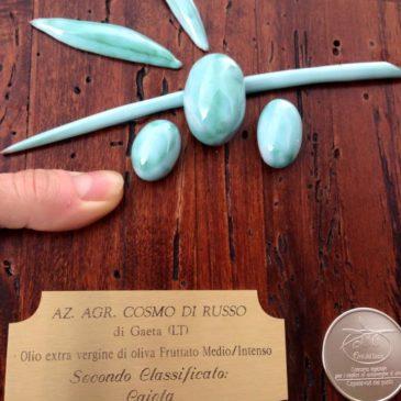 """Oliva di Gaeta: Secondo posto al """"Premio migliori Oli Extra Vergine di Oliva"""""""