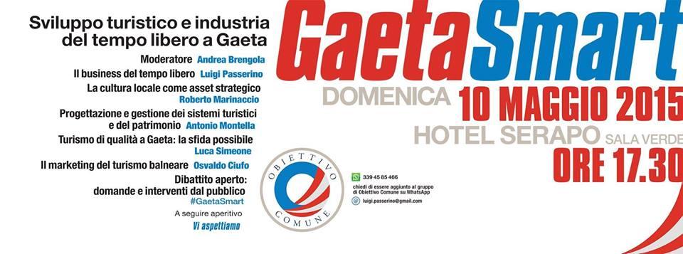 #Eventi Gaeta: Gaeta Smart 2.0 – Sviluppo turistico e industria del tempo libero a Gaeta