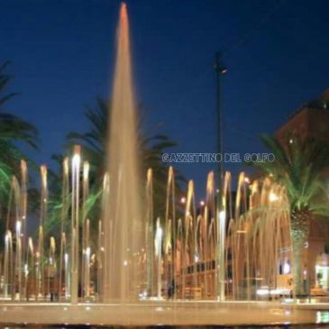 Gaeta, Installazione della mega fontana al centro della rotatoria: Intervista ad Antonio Salone