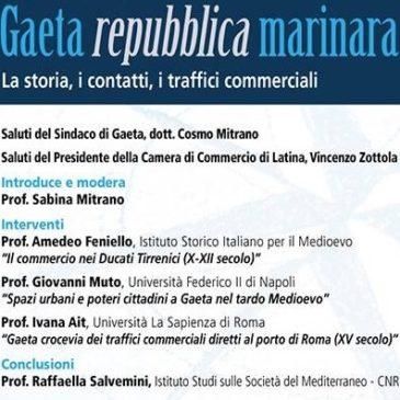 """Convegno nell'ambito dello YMF: """"Gaeta Repubblica Marinara"""""""