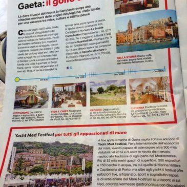 Gaeta sul famoso mensile AM: Si parla dello Yacht Med Festival