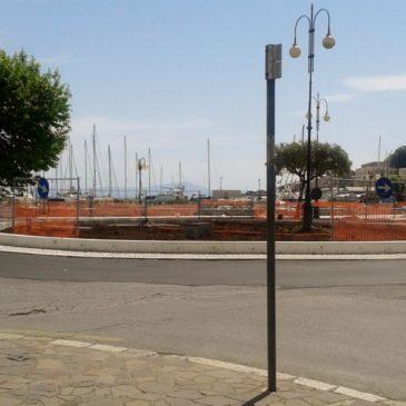 Rotatoria in centro città a Gaeta, arriva la fontana artistica: Ecco le parole dell'assessore Matarazzo