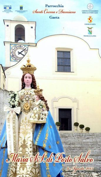 Gaeta: Festività di Maria SS. di Porto Salvo – Ecco il Programma