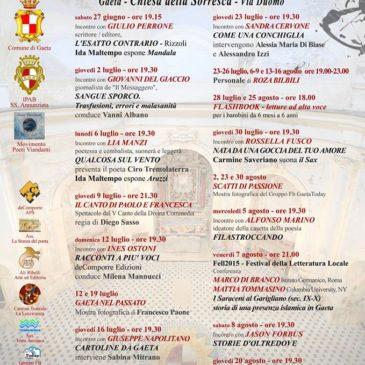 Gaeta: Ecco gli appuntamenti estivi alla CHIESA DELLA SORRESCA