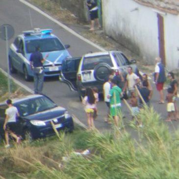 Gaeta: incidente in Via Sant'Agostino.