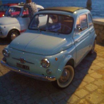 500Day insieme al Topolino Auto Club Italia nella notte Bianca di Sperlonga 2015