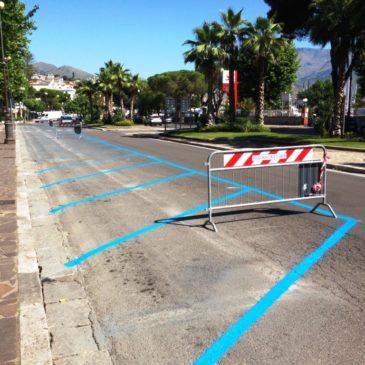 Gaeta: nuovi parcheggi su Via Lungomare Caboto