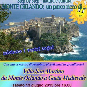 """Gaeta: """"Piccoli Passi in Grandi Tesori"""" – Visita a Villa San Martino"""