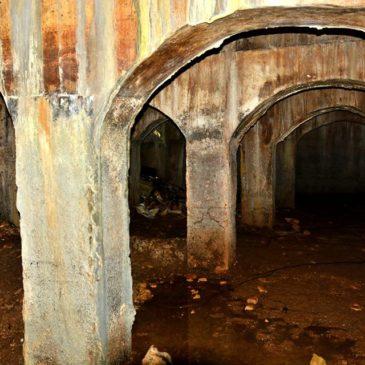 Gaeta zone sconosciute: Ecco le foto esclusive del cisternone romano di San Vitale