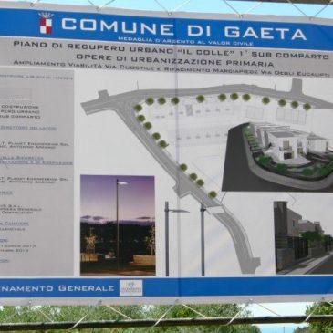 """Gaeta, Piano di Recupero Urbano """"il colle"""". Rilasciato il permesso a costruire"""