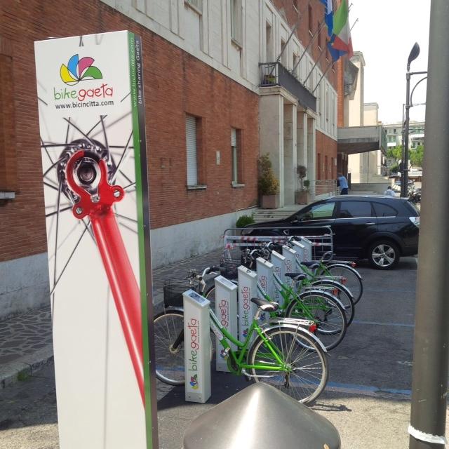Foto stazione Municipio Bike SHaring