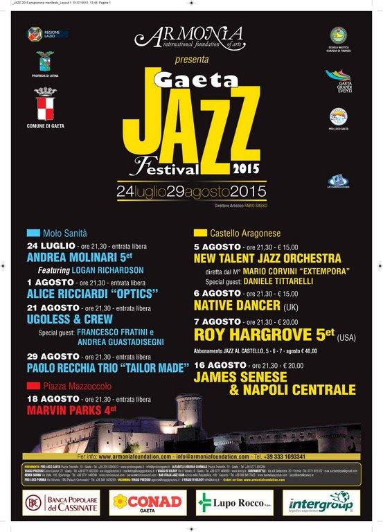 Gaeta Jazz Festival 2015