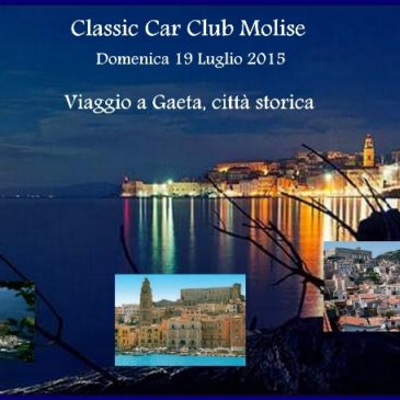 Gaeta: raduno auto d'epoca 19 luglio – Classic Car Club Molise